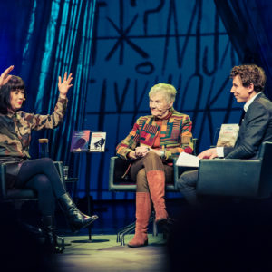 Helsinki Lit 2017 - Linda Boström Knausgård, Märta Tikkanen & Juha Itkonen ©Saara Autere