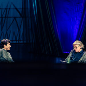 Helsinki Lit 2017 - Laurent Binet & Tuomas Nevanlinna ©Saara Autere