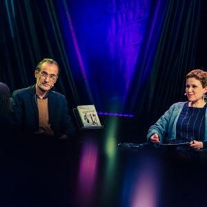 Helsinki Lit 2017 - Aris Fioretos, Petina Gappah & Sirpa Kähkönen ©Saara Autere