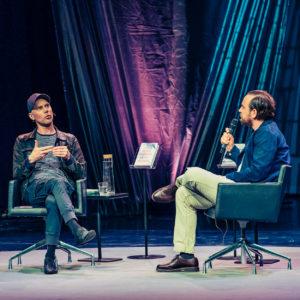 Helsinki Lit 2017 - Tom Malmquist & Philip Teir ©Saara Autere