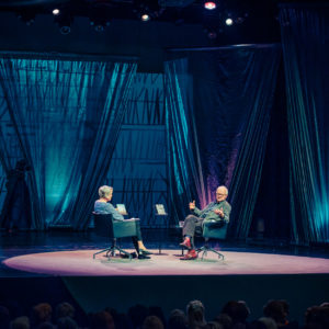 Helsinki Lit 2017 - Merete Mazzarella & Henry Marsh ©Saara Autere