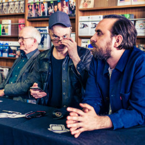 Helsinki Lit 2017 - Henry Marsh, Tom Malmquist & Philip Teir ©Saara Autere