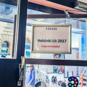 Helsinki Lit 2017 - ©Saara Autere