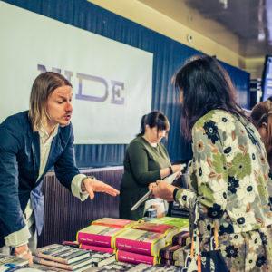 Helsinki Lit 2017 - Joose Siira/Nide-kirjakauppa ©Saara Autere