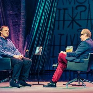Helsinki Lit 2017 - Garth Greenwell & Jari Tervo ©Saara Autere